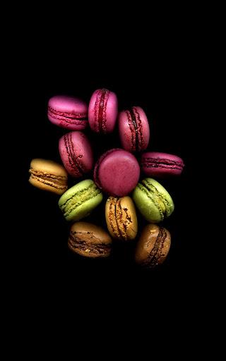 Macaron Candy Live Wallpaper