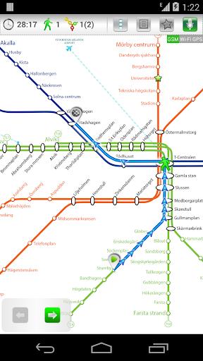 Stockholm Metro 24