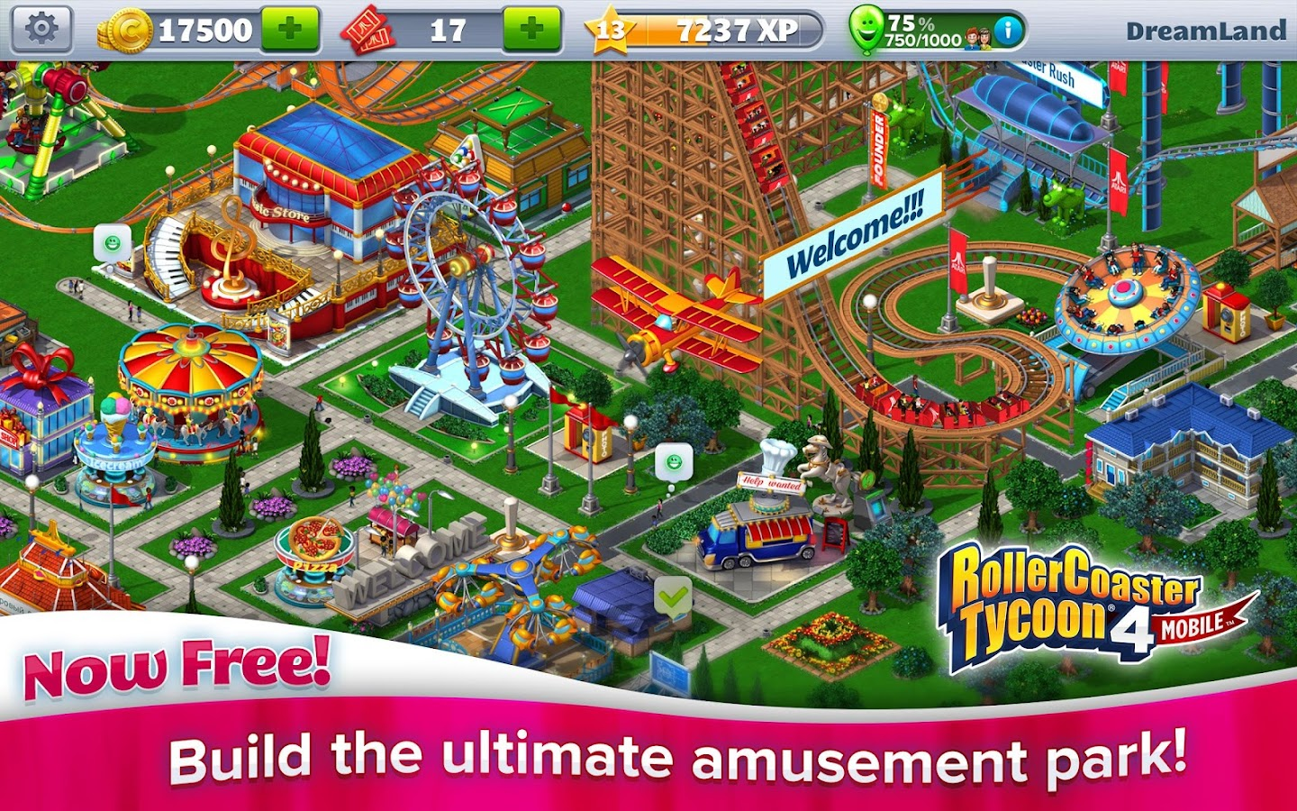 RollerCoaster Tycoon® 4 Mobile - screenshot