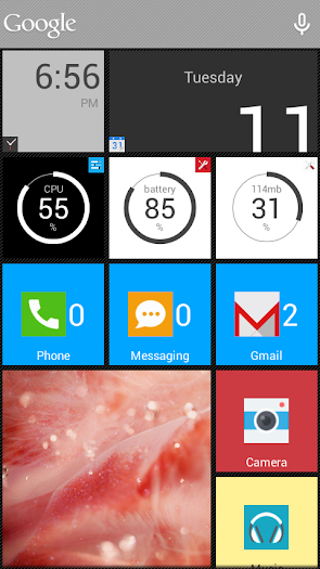 SquareHome.Phone (Launcher) - screenshot