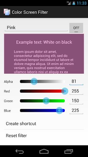 【免費工具App】Color Screen Filter-APP點子
