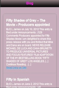 Fifty Shades Of Grey Revealed - screenshot thumbnail