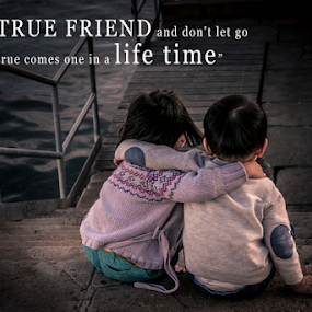 friends by Mark Andres - Typography Quotes & Sentences ( qoute, children )