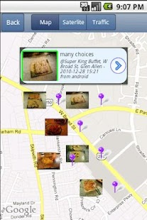 NearbyFeed Lite Friend, Place - screenshot thumbnail