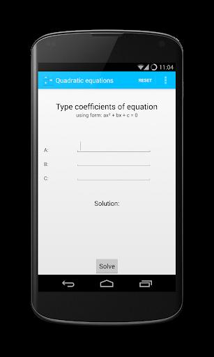 免費下載工具APP|Quadratic Equations Calculator app開箱文|APP開箱王
