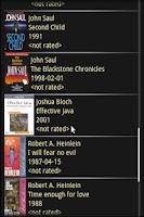 Screenshot of Book Mobile