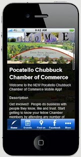 Pocatello Chamber of Commerce- screenshot thumbnail