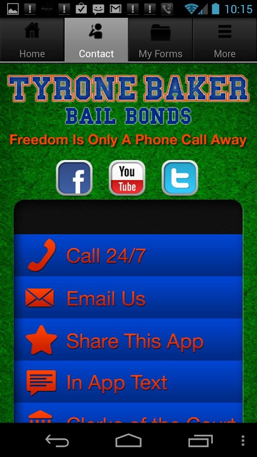 Gainesville Bail- screenshot