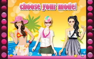 Screenshot of Summer Fashion