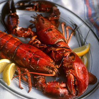Grilled Lobster with Sun-Dried Chile Butter and Corn on the Cob