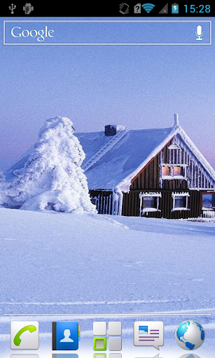 Snowy kingdom Live Wallpaper