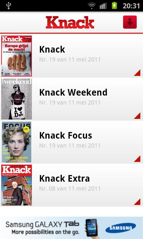 Knack Smartphone - screenshot