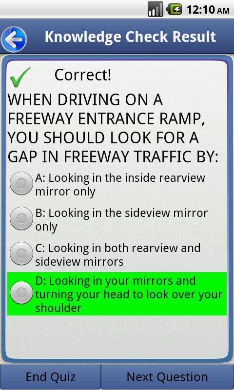 How Many Questions Are On The Permit Test >> Driver License Test PA - Android Apps on Google Play