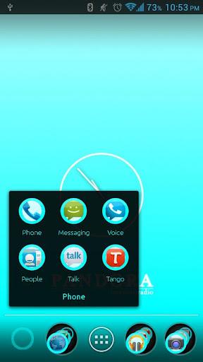 玩個人化App|Cyan Sky Apex Theme免費|APP試玩