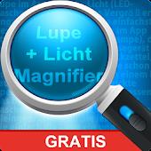 Lupe + Licht (Magnifier)