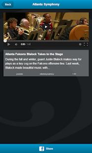 Atlanta Symphony Orchestra - screenshot thumbnail