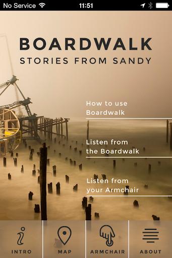 Boardwalk Stories from Sandy