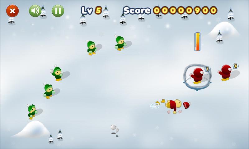 눈싸움 게임 - screenshot