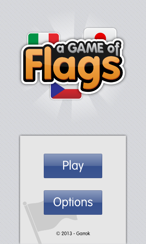 A Game of Flags - screenshot