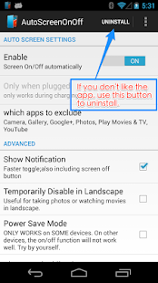 Auto Screen On Off(Smart Cover- screenshot thumbnail