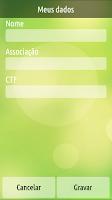 Screenshot of Contador de Cantos