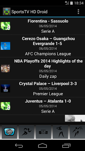 Sports TV HD for Tablets