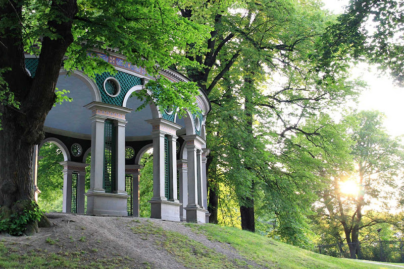 The Turkish Kiosk in Haga Park (Hagaparken) in Stockholm, Sweden.