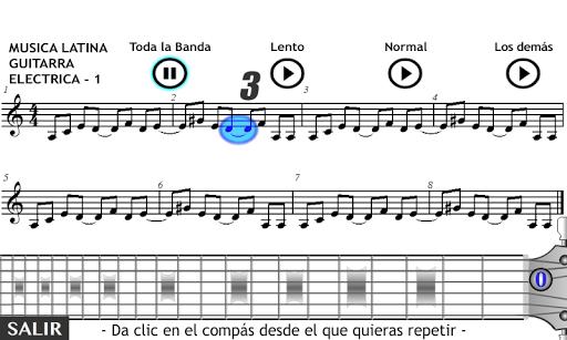 Play Guitar Latin Music