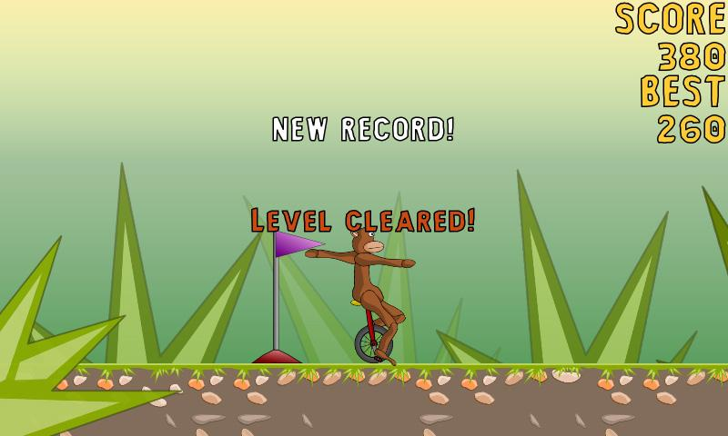 Monocycle Monkey - screenshot