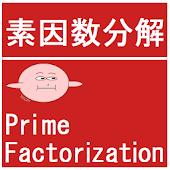 素因数分解(Prime Factorization)