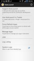 Screenshot of AutoLaunch