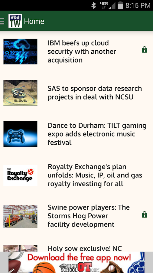 WRAL TechWire- screenshot