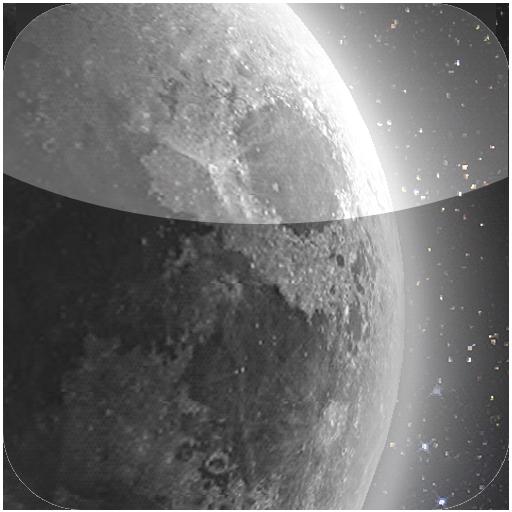 HD moon glow live wall