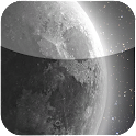 HD moon glow live wall icon