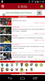 Jornal A Bola screenshot