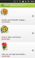 Screenshot of Blumen & Geschenke