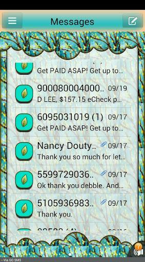 GO SMS THEME Autumn4U