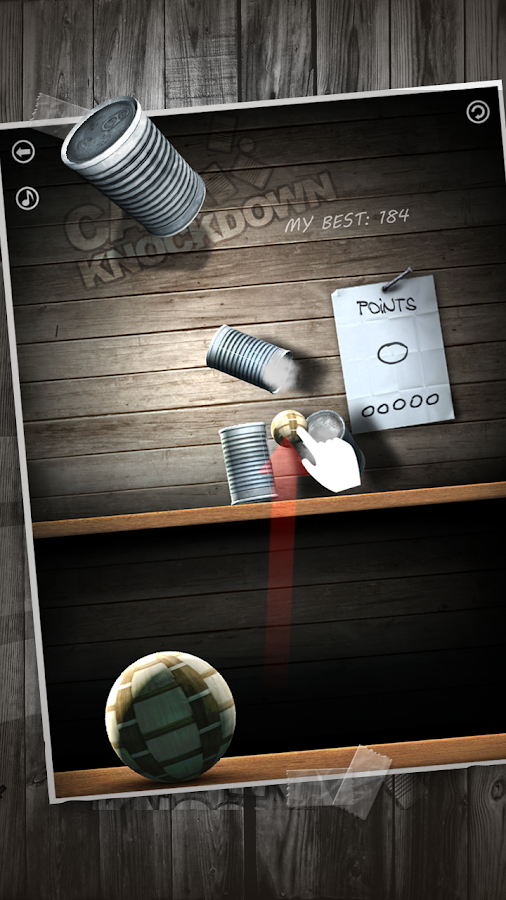 Can Knockdown Android