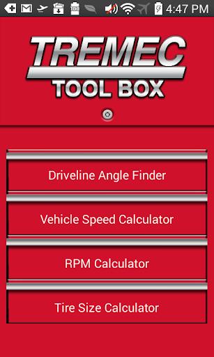 TREMEC Toolbox