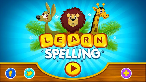 English Learn Spelling-Animals