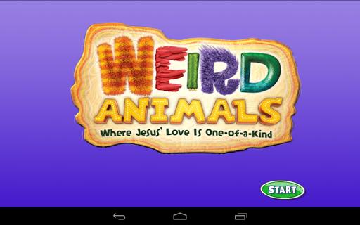 Weird Animals Bible Buddies