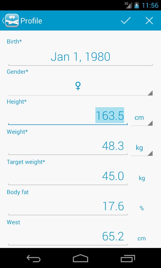 peso Free - Diet Assistant - screenshot