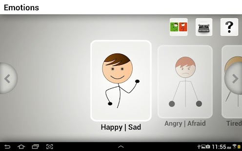 Quick Talk AAC- screenshot thumbnail
