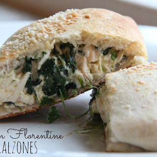 Chicken Florentine Calzones