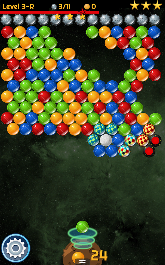 Space Bubble Shooter - screenshot