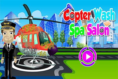 Helicopter Wash Salon Spa