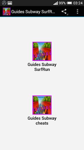 Guides Subway SurfRun cheats