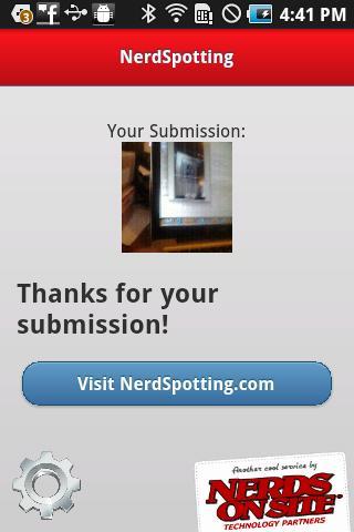 NerdSpotting- screenshot