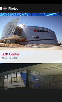 BOK Center - screenshot
