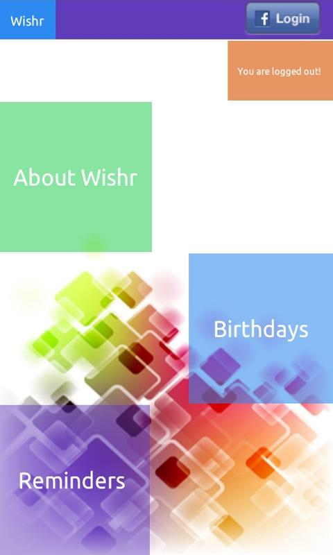 Wishr- screenshot